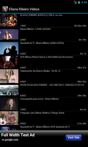 Eliana Ribeiro - Vídeos
