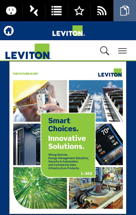 Atemberaubend Leviton Website Zeitgenössisch - Elektrische ...