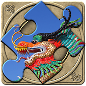 FlipPix Jigsaw - Dragons
