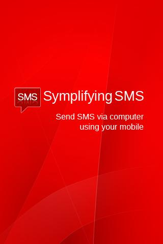 Simplifying SMS- screenshot