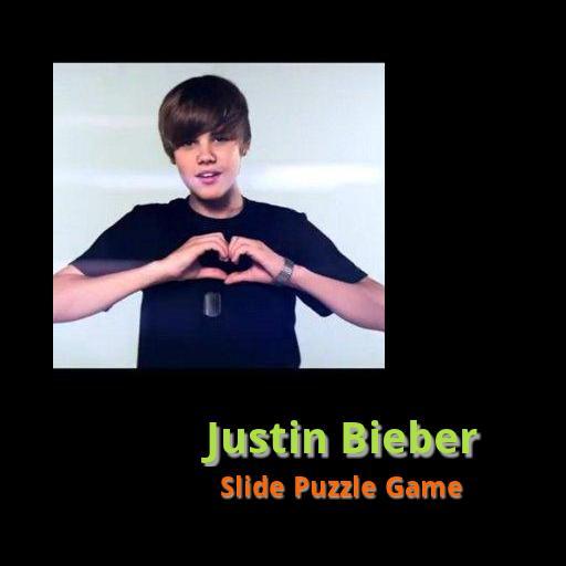 Justin Bieber Slide Puzzle