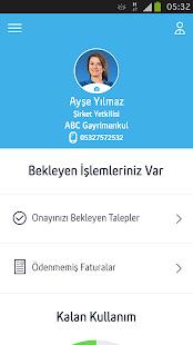 Turkcell Şirketim - náhled