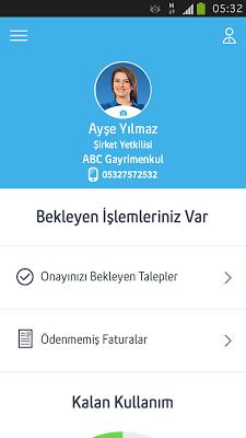 Turkcell Şirketim - screenshot