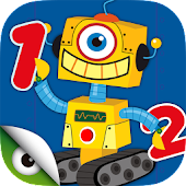 Learn math: Robots & Numbers