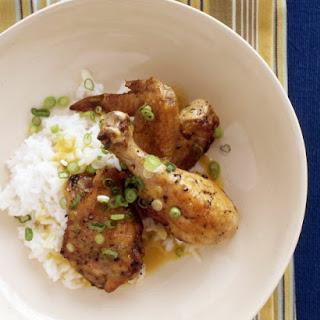 Pineapple-Glazed Chicken.