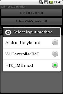 Wiimote Controller - screenshot thumbnail