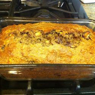 Banana Date Flaxseed Bread
