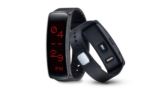 LED Dot Vertical Clock GearFit