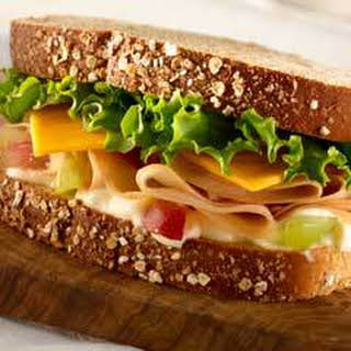 Honey Roasted Turkey Sandwich.