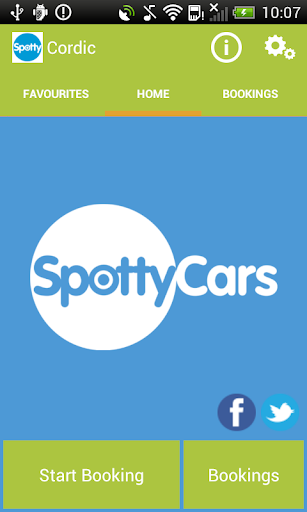 Spotty Cars Minicab Taxi Cab