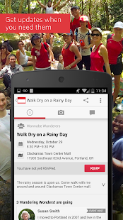 Meetup – Make community real- screenshot thumbnail
