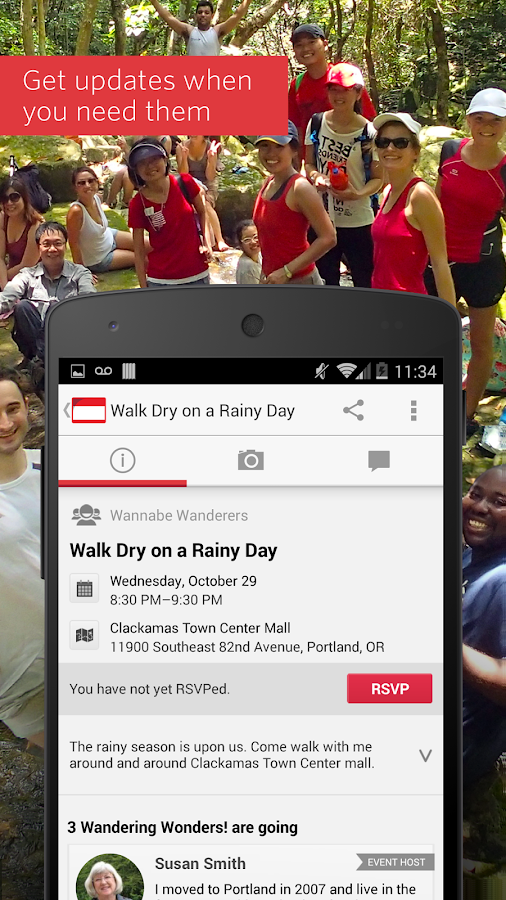 Meetup – Make community real- screenshot