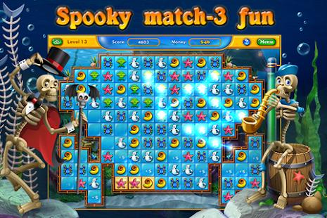 Fishdom Spooky HD- screenshot thumbnail