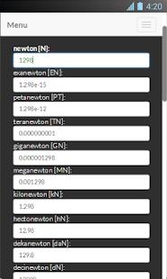 Force Conversion Screenshot 3