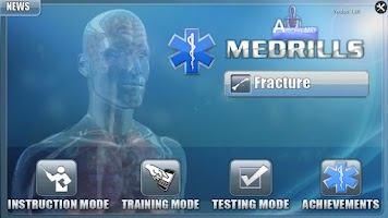 Screenshot of Medrills: Fracture
