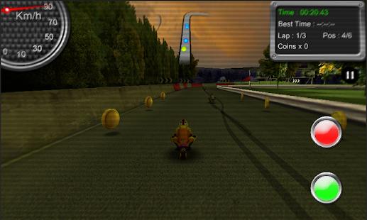 小型摩托車賽車街機遊戲