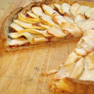 Bacon and Apple Tart