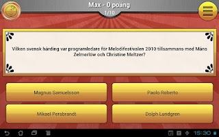Screenshot of ExQuizit - Sverige Lite