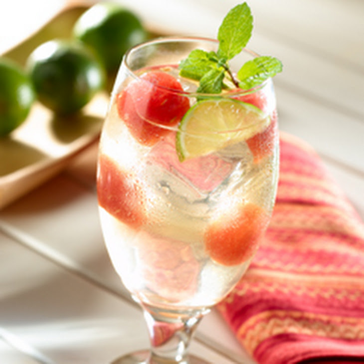 Watermelon-lime Mint Punch