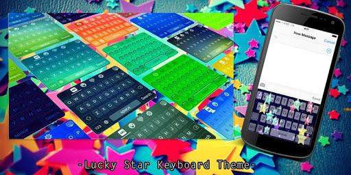 Lucky Star Keyboard Theme