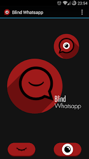 Blind Whatsapp + Widget
