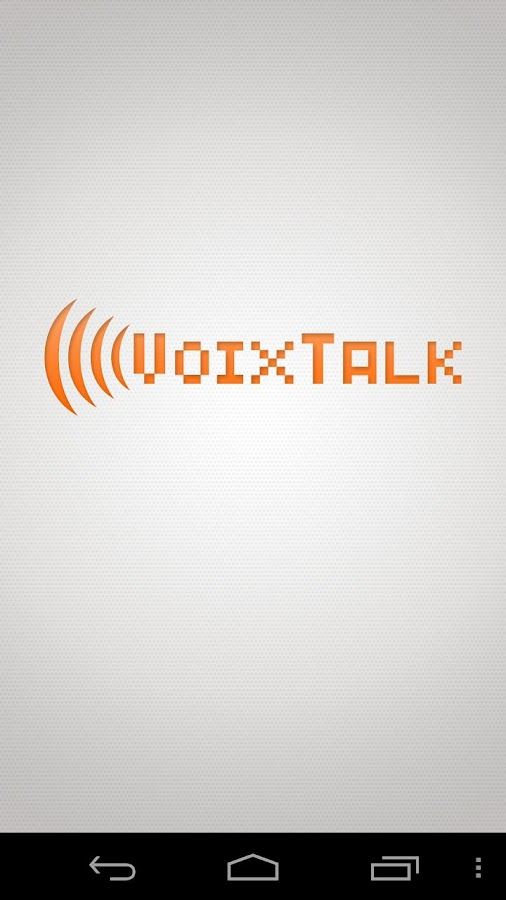 VoixTalk SIP Softphone- screenshot
