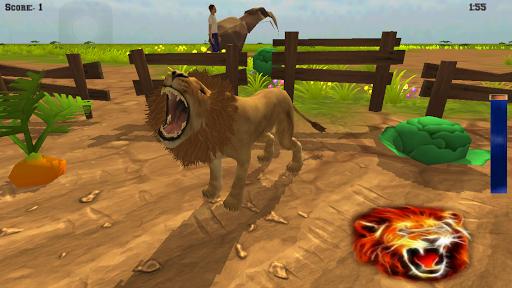 Angry Wild Lion Simulator
