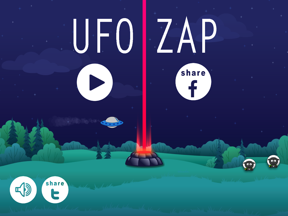 UFO ZAP- screenshot