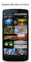 Screenshot of Flickr with Inflikr