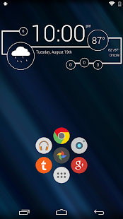 Minimal - Zooper Widget Pro Screenshot 2