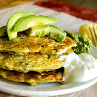 Savory Corn Zucchini Fritter Recipe, GF Vegan