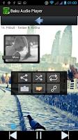 Screenshot of Baku Audio Player