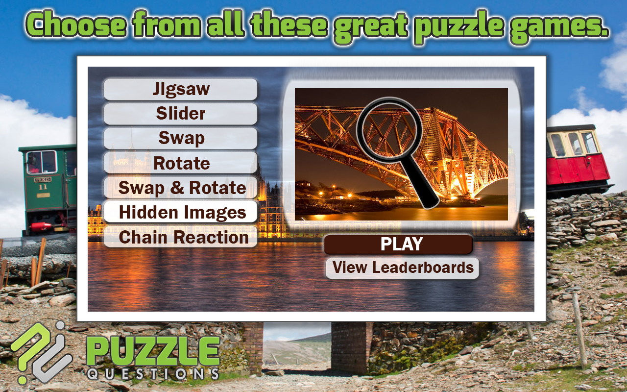 Great Britain Puzzle Games- screenshot