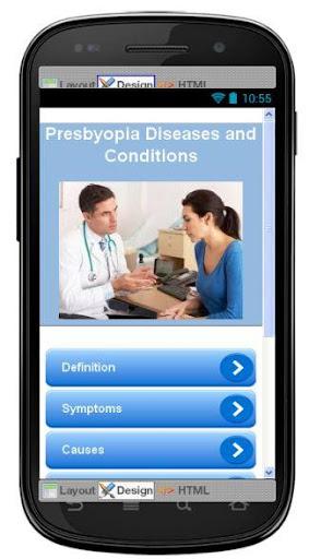 Presbyopia Disease Symptoms