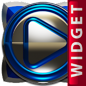 Poweramp Widget Blue Deluxe