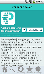 Antibiotika i primærmedisin screenshot 4