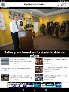 Post & Courier Charleston - screenshot thumbnail