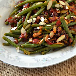 Fresh from Florida | Citrus Cranberry Snap Beans