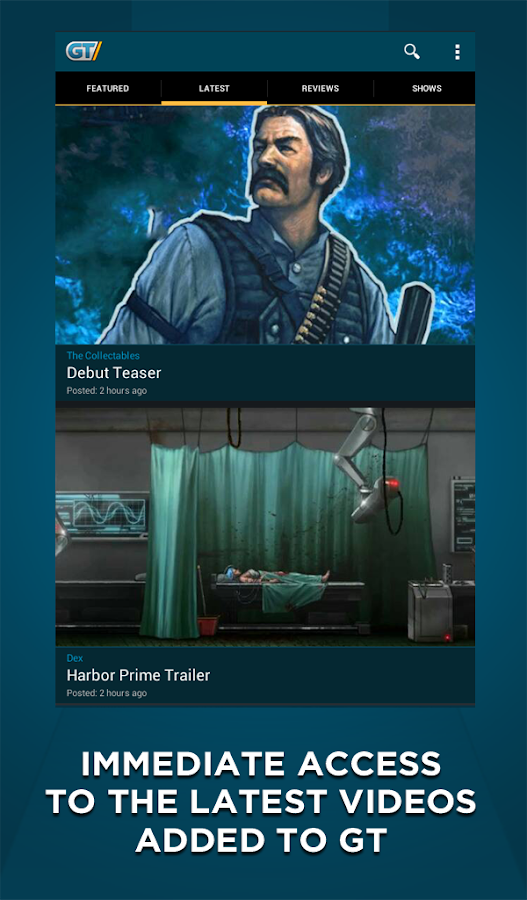 GameTrailers - screenshot
