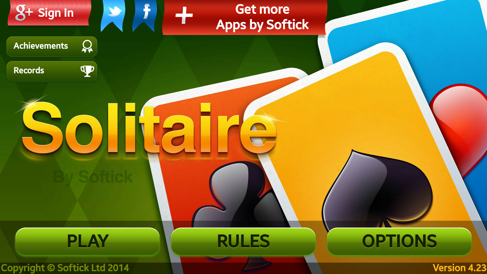 Doublets Solitaire - screenshot