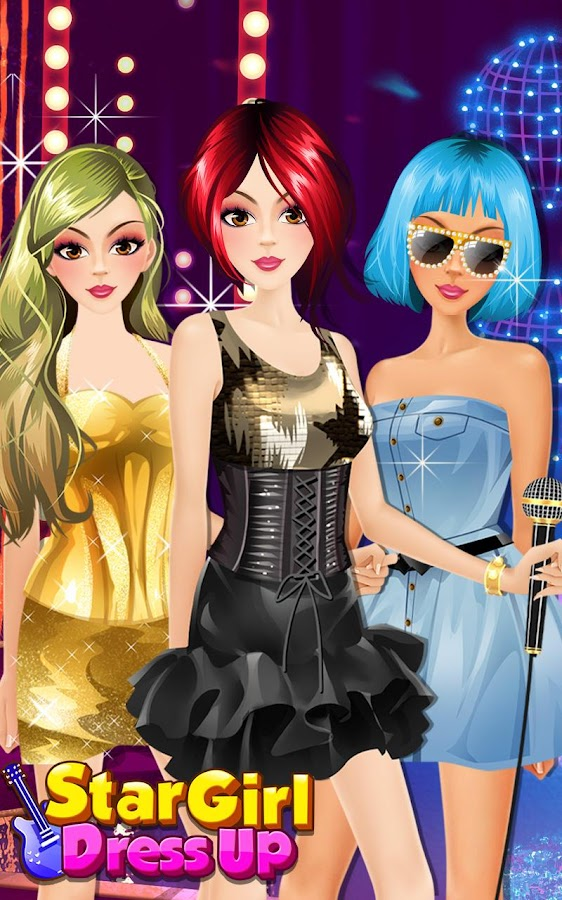 Star Girl Dress Up Salon Android Apps On Google Play