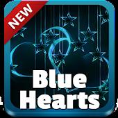 Blue Hearts GO Keyboard