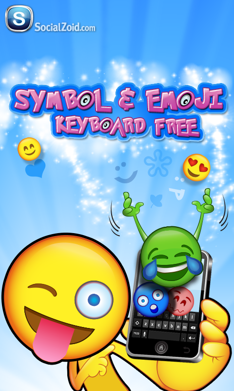 Symbols & Emoji Keyboard FREE - screenshot