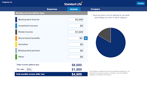 Standard Life Planning Tools - screenshot thumbnail
