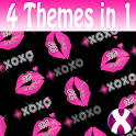 XOXO Dark Complete 4 Themes icon