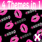XOXO Dark Complete 4 Themes