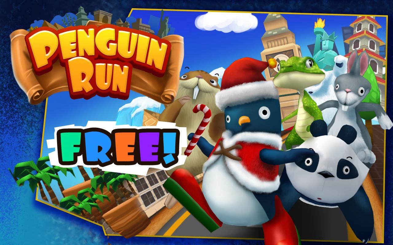 Penguin Run- screenshot