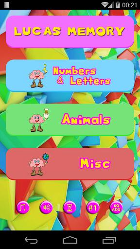 Lucas' Memory Game AdFree