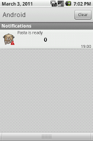 Screenshot of Al dente