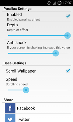 Parallax Wallpaper: Cells - screenshot